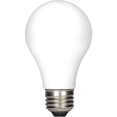Satco 40W Equivalent Medium Warm White A19 LED Light Bulb