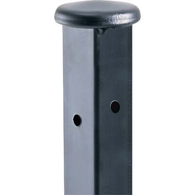 Gilpin Windsor Plus 1-1/4 In. x 1-1/4 In. x 36 In. Wrought Iron Railing Newel Post