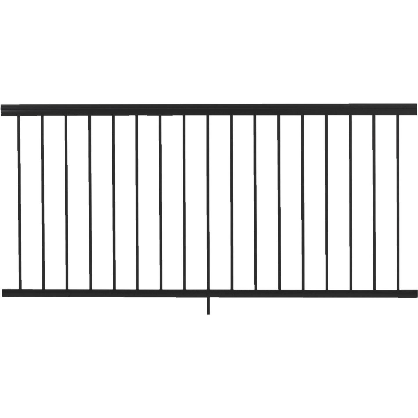 Gilpin Summit 36 In. H. x 6 Ft. L. Black Aluminum Railing Image 1