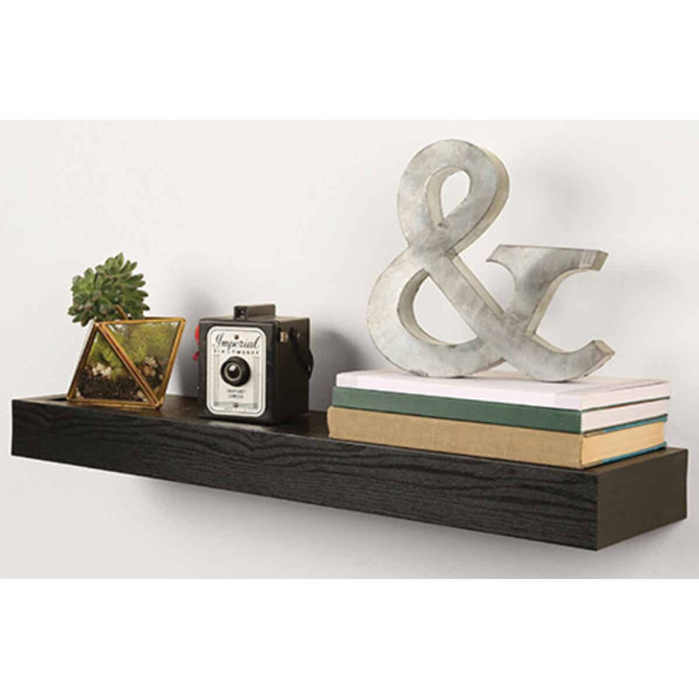 High and Mighty 18 In. Black Floating Shelf  Image 2