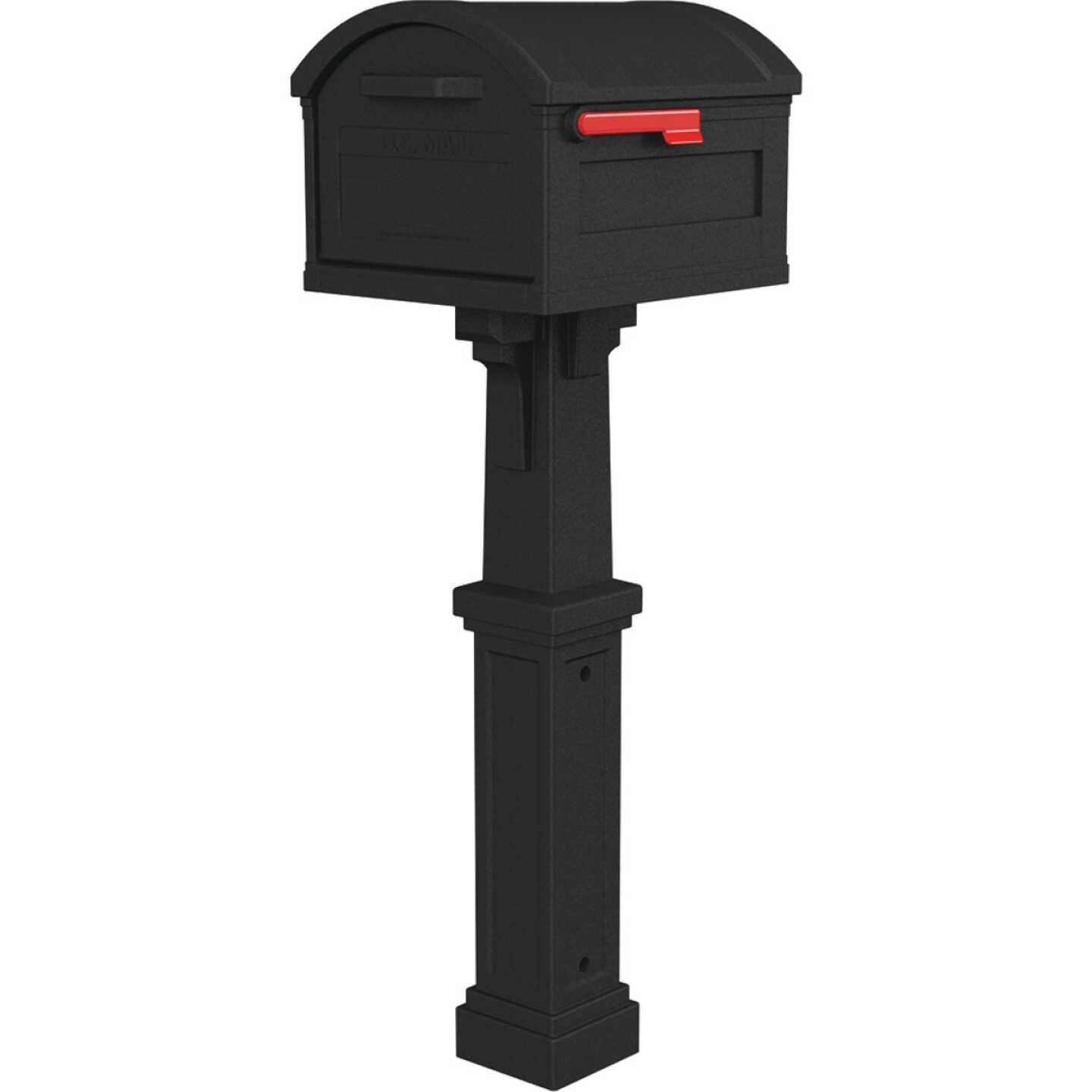 Gibraltar Grand Haven Black All In One Mailbox Image 1