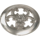 Laurey Satin Chrome Center Design 1-1/2 In. Cabinet Knob Image 1