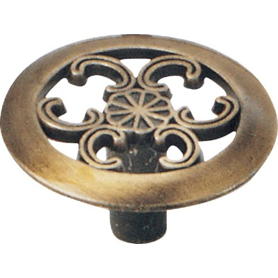 Laurey Antique Brass Classic 1-1/2 In. Cabinet Knob