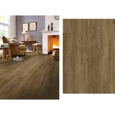Mohawk Design Elements Walnut Mocha 6 In. W x 48 In. L Luxury Vinyl Rigid Core Floor Plank (24.11 Sq. Ft./Case)