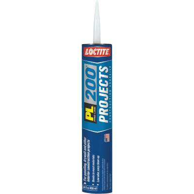 LOCTITE PL 200 28 Oz. Projects Construction Adhesive