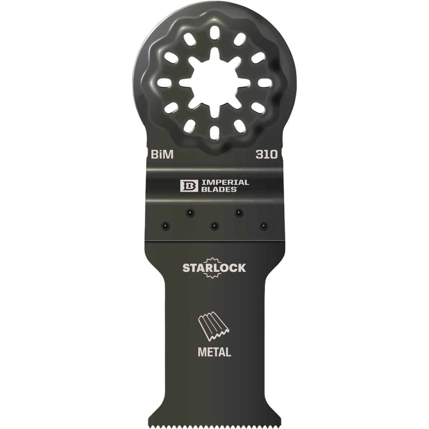 Imperial Blades Starlock 1-1/5 In. 21 TPI Metal Oscillating Blade Image 1