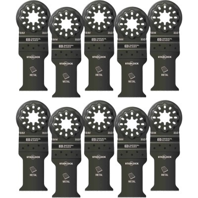 Imperial Blades Starlock 1-1/5 In. 21 TPI Metal Oscillating Blade (10-Pack)
