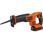 Black & Decker 20 Volt MAX Lithium-Ion Cordless Reciprocating Saw Kit Image 4