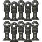Imperial Blades Starlock 1-3/4 In. 18 TPI Metal/Wood Oscillating Blade (10-Pack) Image 1