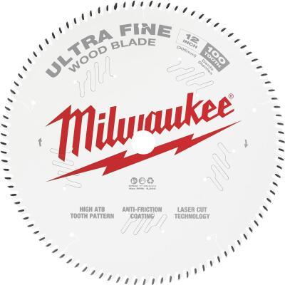 Milwaukee 12 In. 100-Tooth Ultra Fine Finish Circular Saw Blade
