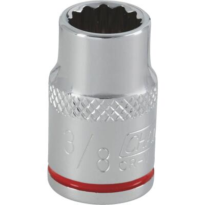 Channellock 3/8 In. Drive 3/8 In. 12-Point Shallow Standard Socket