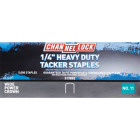 Channellock No. 11 Power Crown Hammer Tacker Staple, 1/4 In. (5000-Pack) Image 2