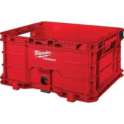 Milwaukee PACKOUT 50 Lb. Red Storage Tote