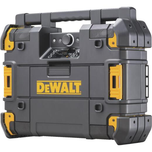 DeWalt TSTAK 12/20 Volt MAX and 20/60 Volt FLEXVOLT Lithium-Ion Bluetooth Cordless Jobsite Radio/Charger