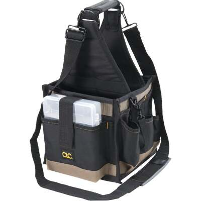 CLC 25-Pocket 8 In. Square Electrical and Maintenance Tool Tote