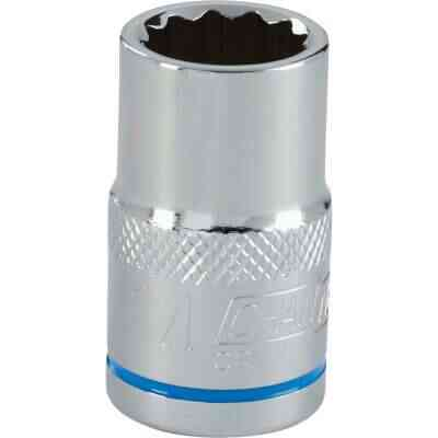 Channellock 1/2 In. Drive 14 mm 12-Point Shallow Metric Socket