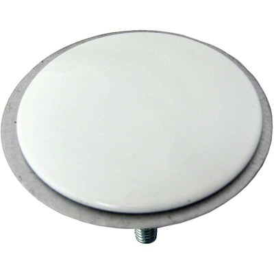 Lasco 2 In. White Faucet Hole Cover