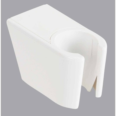Do it White Plastic Shower Wall Mount