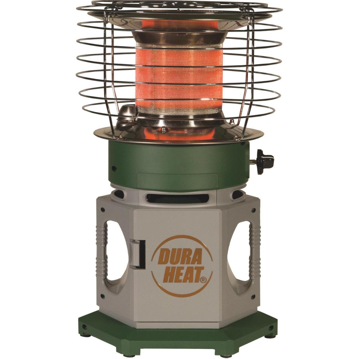 Dura Heat 18,000 BTU Radiant Double Tank 360 Degree Propane Heater Image 1