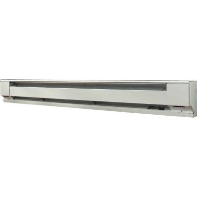 Fahrenheat 72 In. 1500-Watt 240-Volt Electric Baseboard Heater, Northern White
