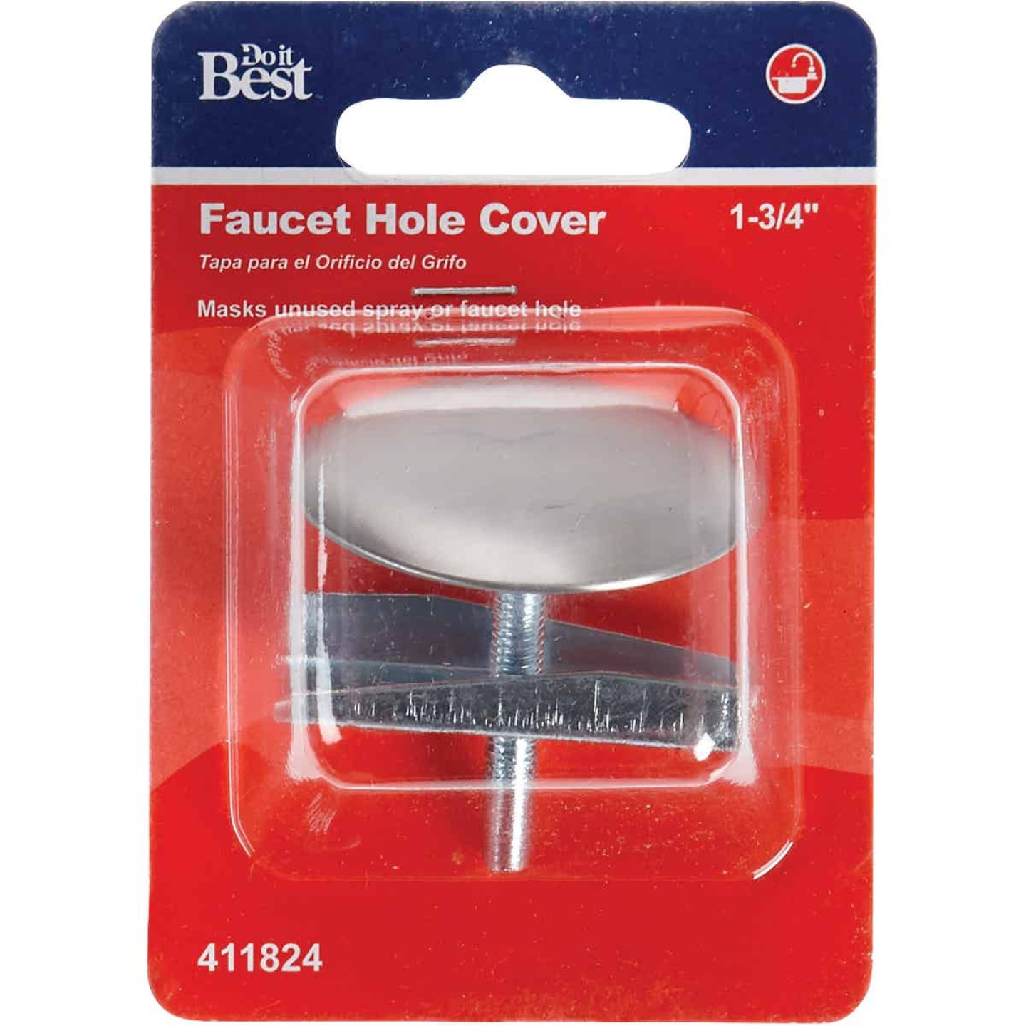 Do it 1-3/4 In. Stainless Steel Faucet Hole Cover Image 2