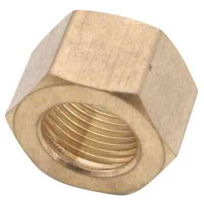 Anderson Metals 1/2 In. Brass Compression Nut (2-Pack)