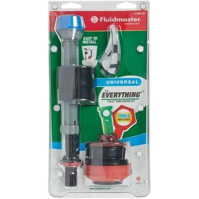 Fluidmaster PerforMAX 2 In. Universal Complete Toilet Repair Kit w/Install Tools