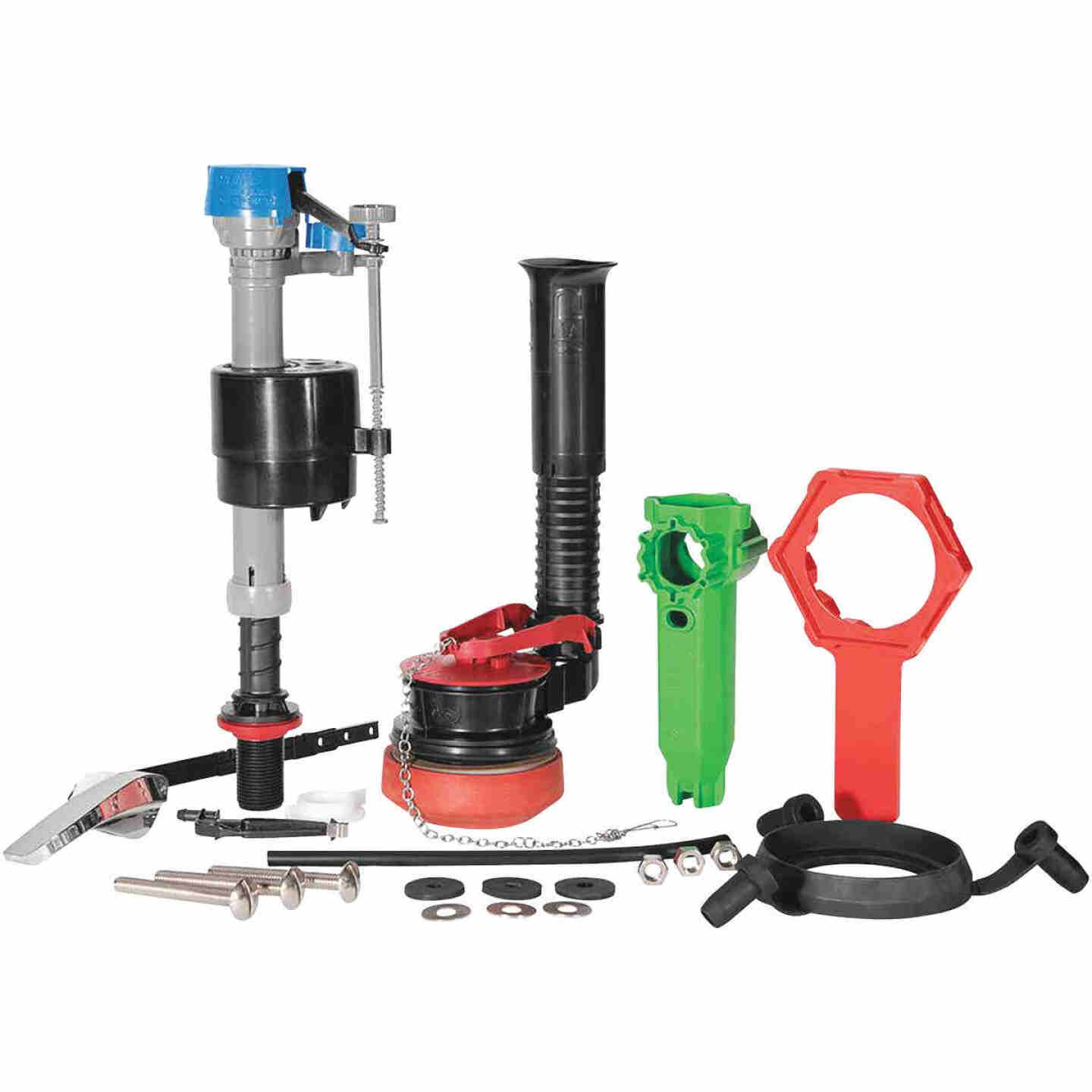 Fluidmaster PerforMAX 2 In. Universal Complete Toilet Repair Kit w/Install Tools Image 2