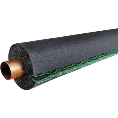 ArmaFlex 1/2 In. Wall Self-Sealing Rubber Pipe Insulation Wrap, 5/8 In. x 6 Ft.