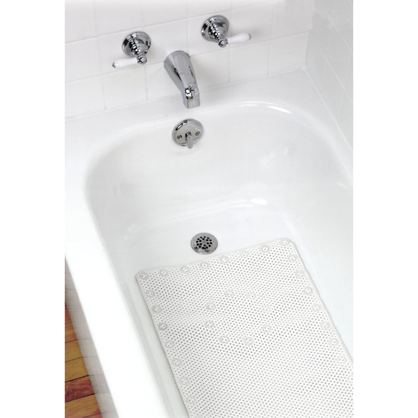 Zenith 17 In. x 36 In. Foam Bath Mat Image 1