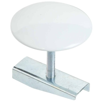 Do it 1-3/4 In. White Metal Faucet Hole Cover