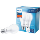 Philips 100W Equivalent Soft White A21 Medium LED Light Bulb (2-Pack) Image 1