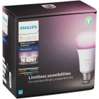 Philips Hue White & Color Ambiance 60W Equivalent Medium A19 Dimmable LED Light Bulb Bluetooth Starter Kit Image 2