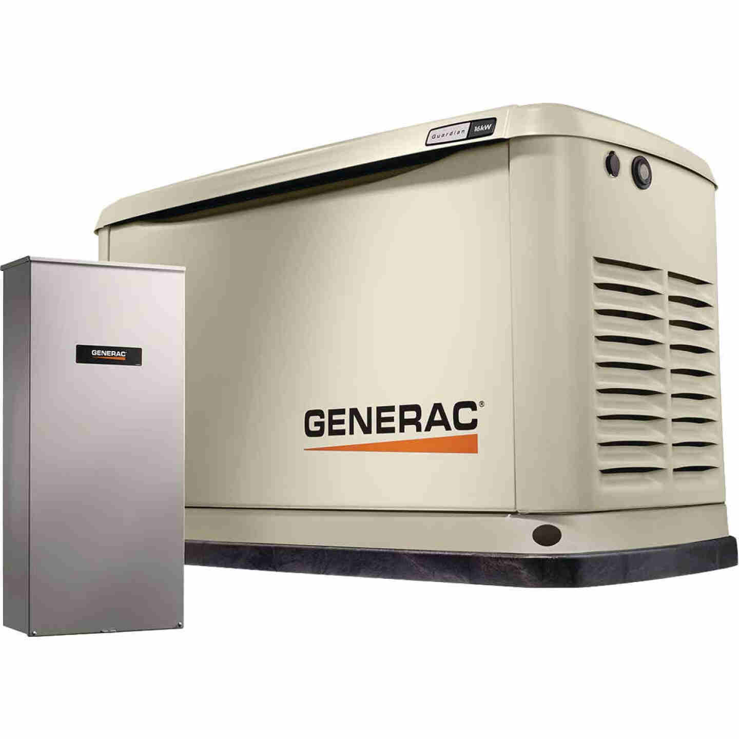 Generac Guardian WiFi 16,000W Natural Gas/LP Home Standby Generator Home Back Up Generator with Smart Switch Image 1