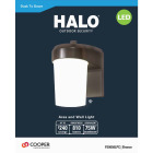 Halo Bronze Dusk To Dawn LED Outdoor Area Light Fixture Image 2