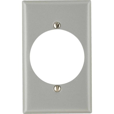 Leviton 1-Gang Steel Range/Dryer Wall Plate