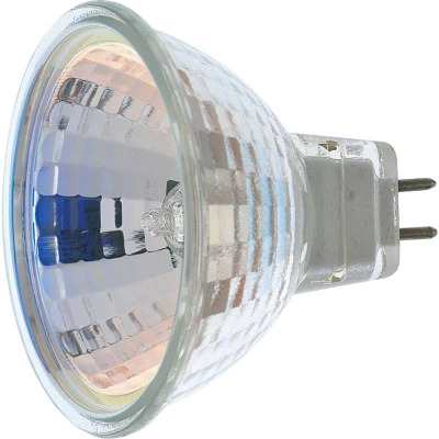 Satco 60W Equivalent Clear G8 Base MR16 Halogen Floodlight Light Bulb