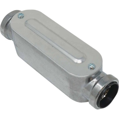 Southwire SimPush 1/2 In. EMT Push-To-Install Type-C Conduit Body