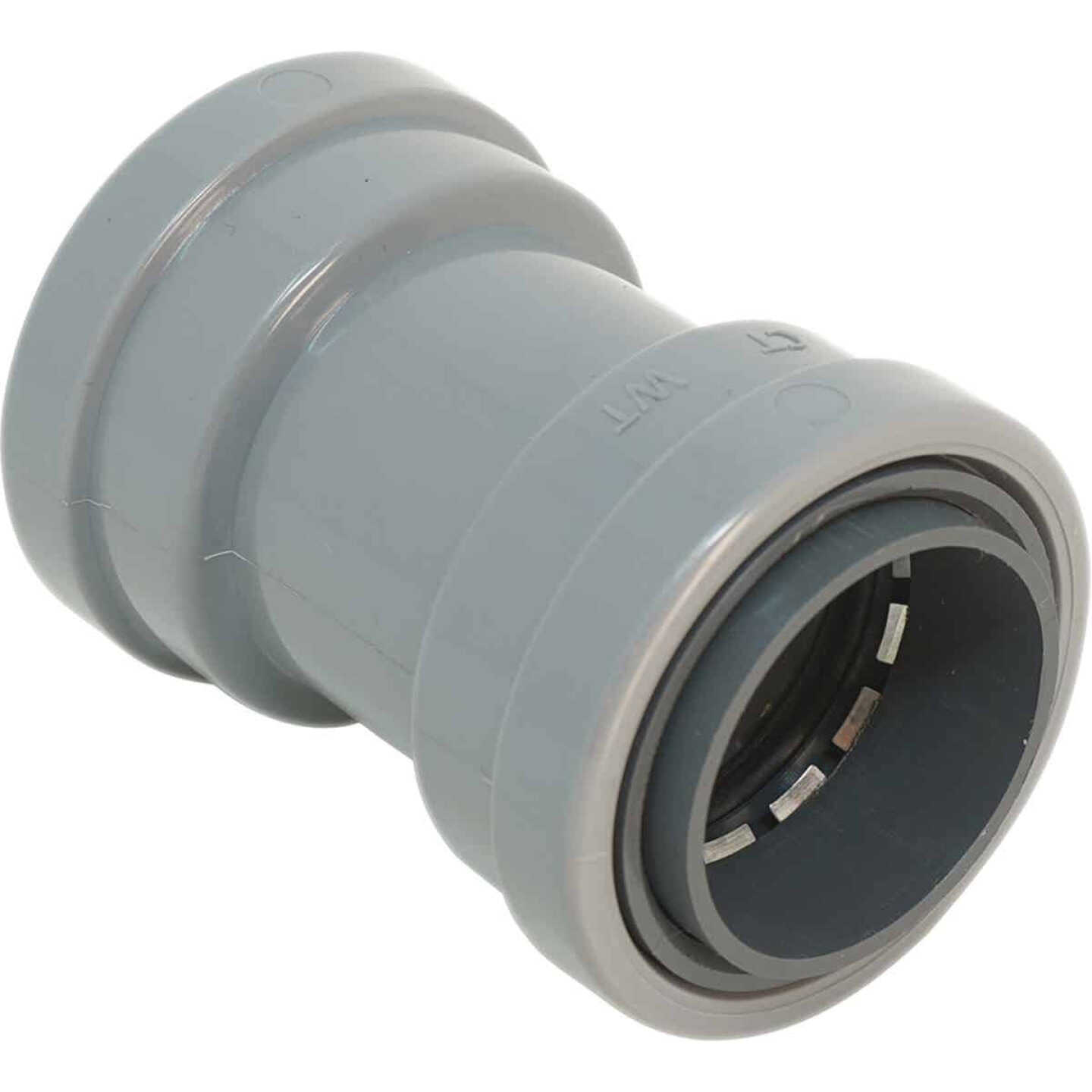 Southwire SimPush 3/4 In. PVC-CIC Push-To-Install Conduit Coupling (5-Pack) Image 1