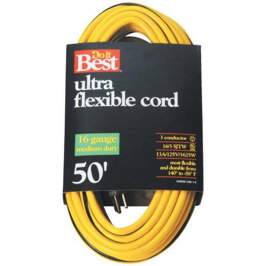 Do it Best 50 Ft. 16/3 Medium-Duty Extension Cord