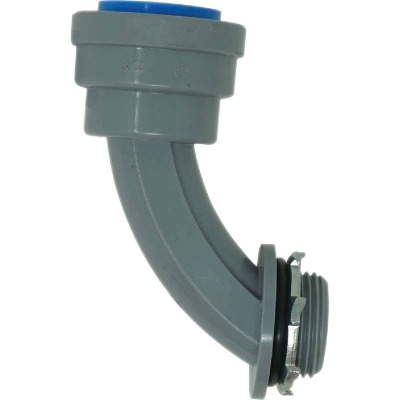 Southwire SimPush 1/2 In. PVC-CIC Push-To-Install 90-Degree Elbow