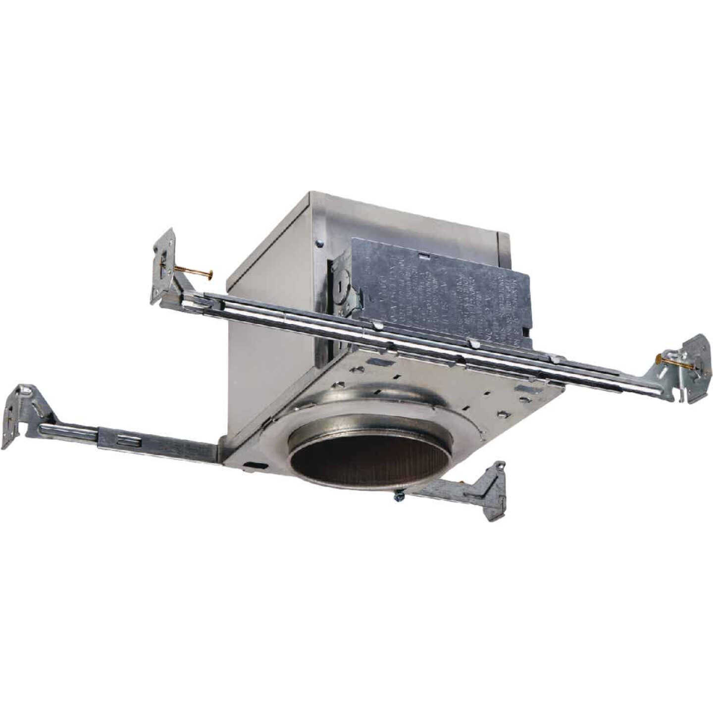 Halo Air-Tite 4 In. New Construction IC/Non-IC Rated Recessed Light Fixture with Adjustable Socket Bracket Image 1