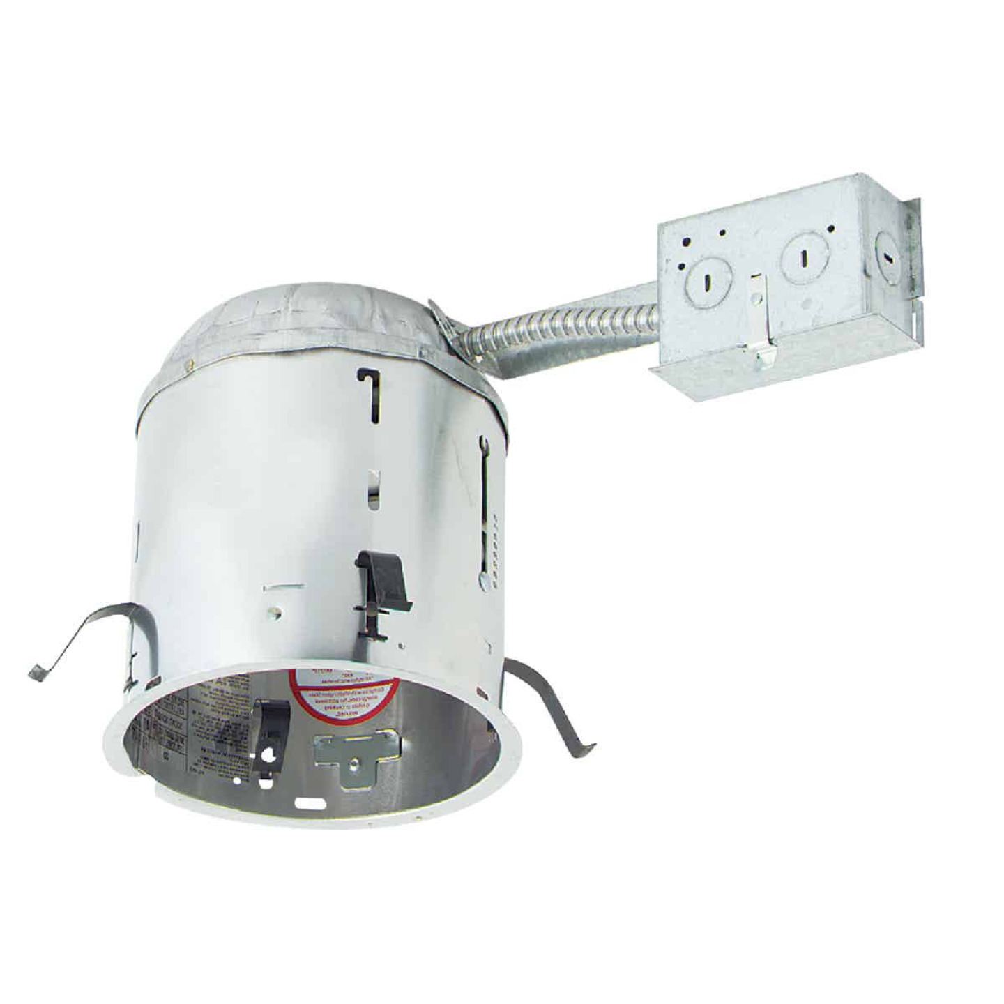 Halo 6 In. Remodel IC Rated Recessed Light Fixture Image 1