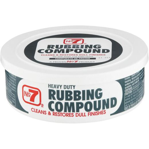 NO. 7, 10 oz Paste  Rubbing Compound