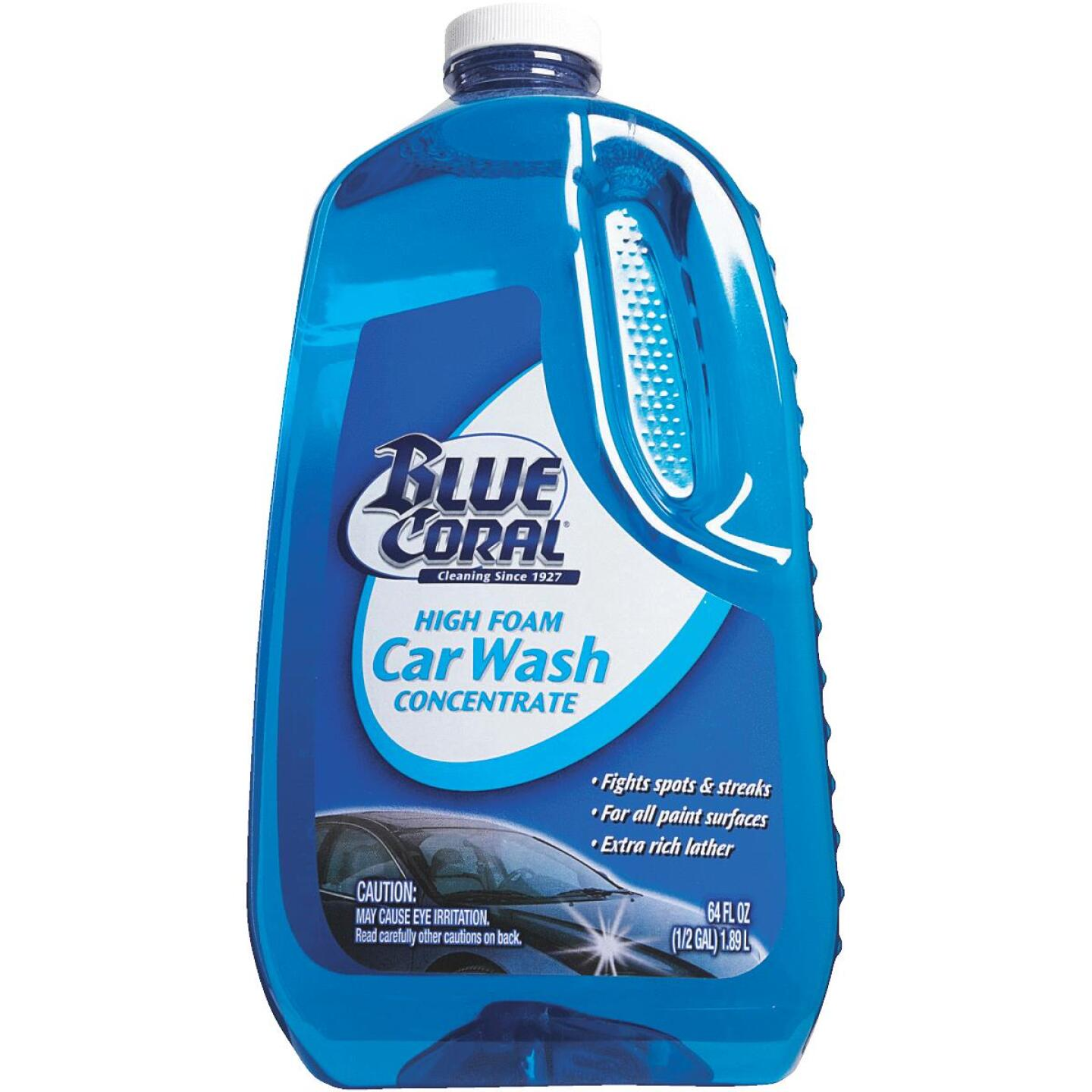 Blue Coral 64 Oz. Liquid High Foam Concentrate Car Wash Image 2