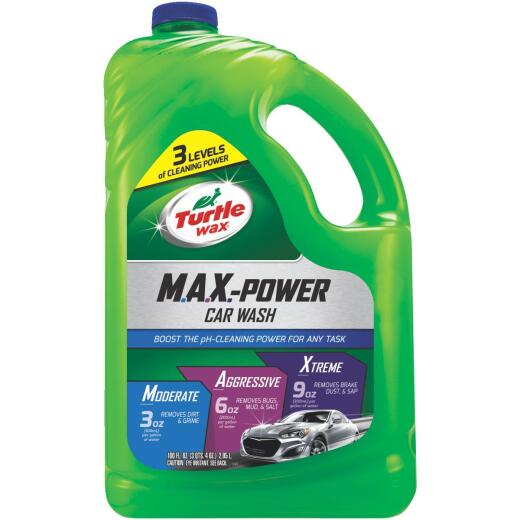 Turtle Wax 100 Oz. Liquid M.A.X.-Power Car Wash