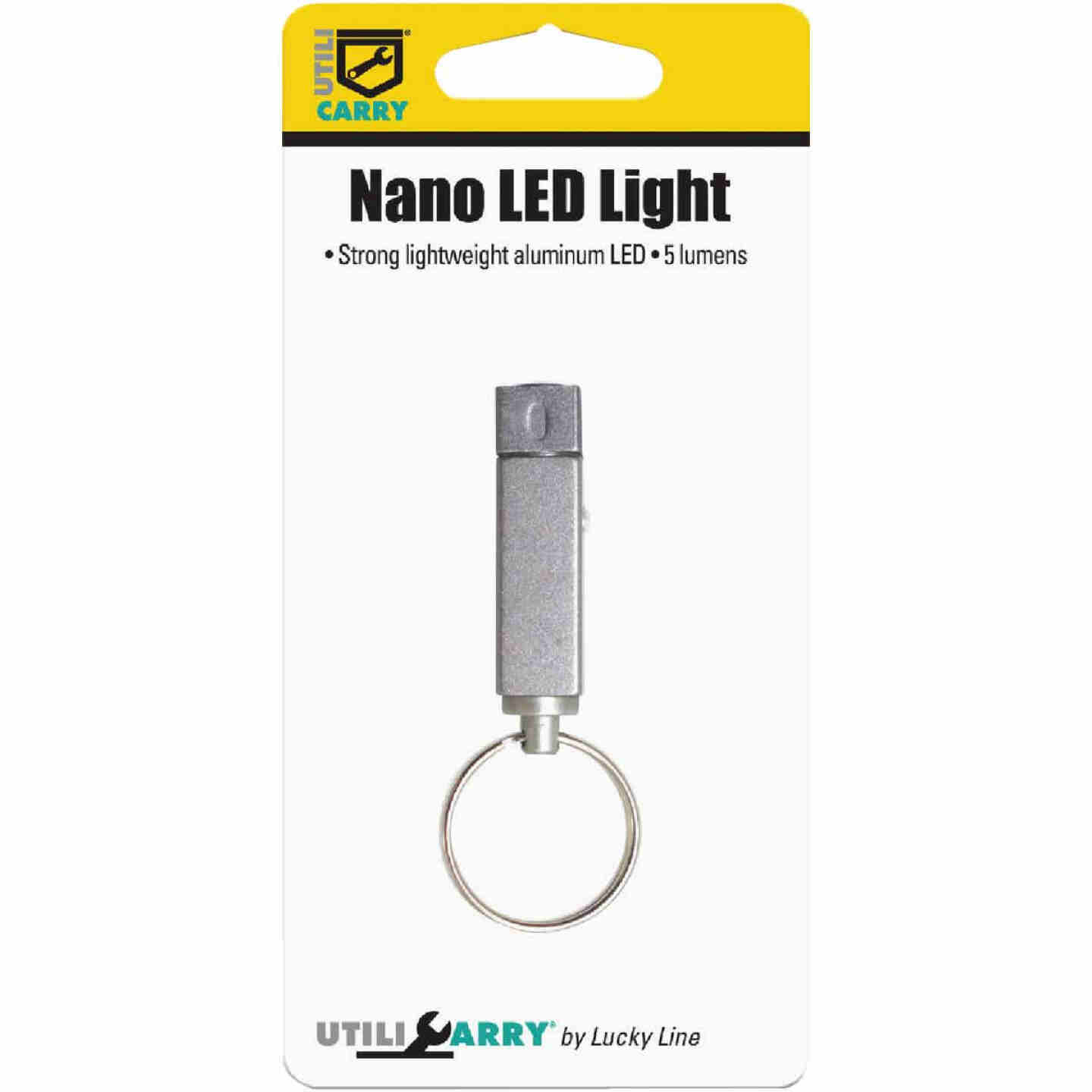 Lucky Line Utilicarry Nano LED Key Ring Light Image 2