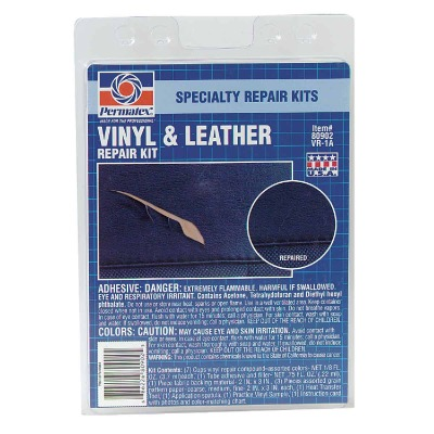 PERMATEX Vinyl and Leather Repair Kit, (4-Piece)