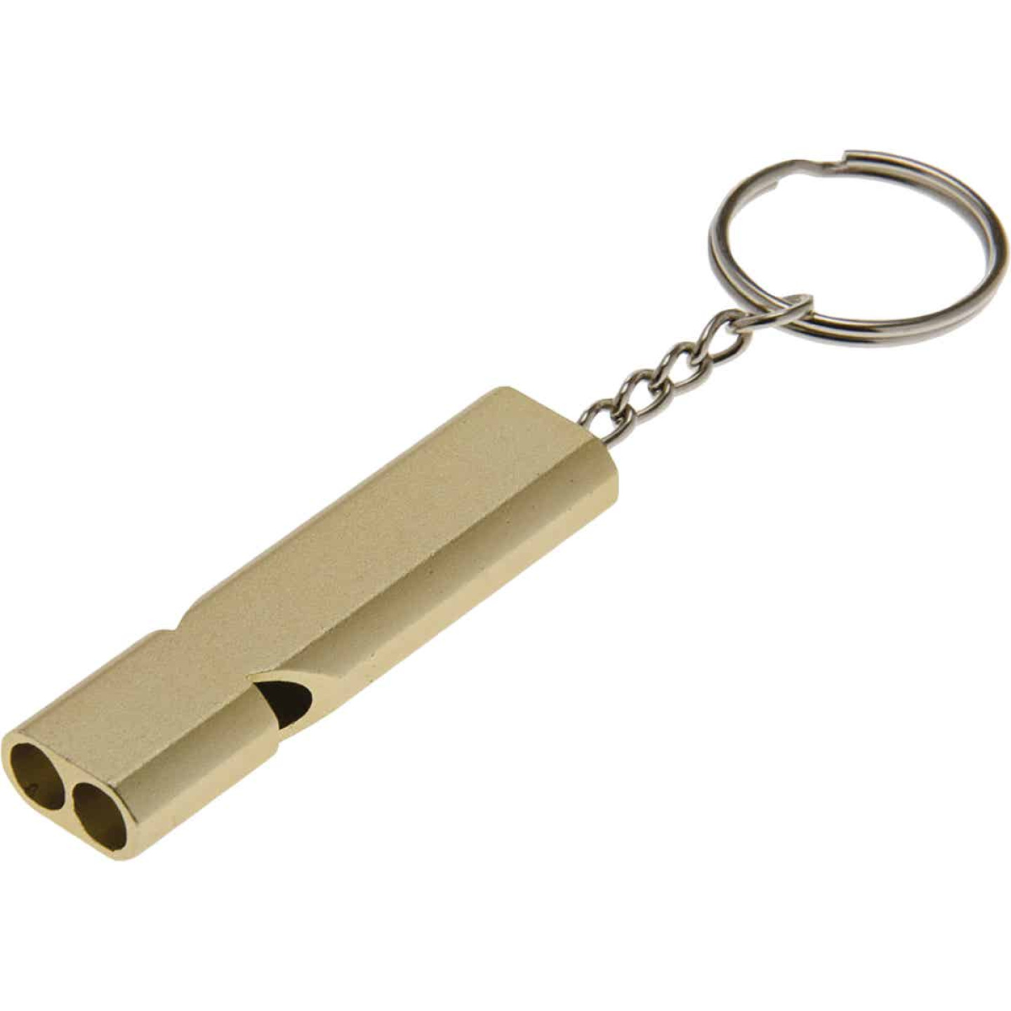 Lucky Line Utilicarry Safety Whistle with Key Ring Image 1