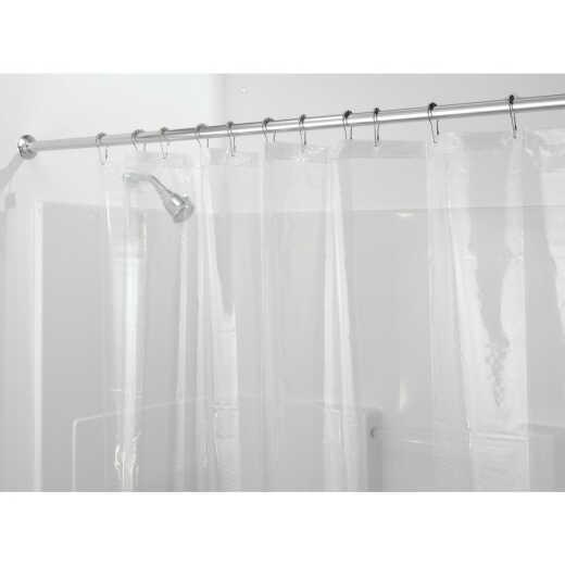 InterDesign 72 In. x 72 In. Clear PEVA Shower Curtain Liner